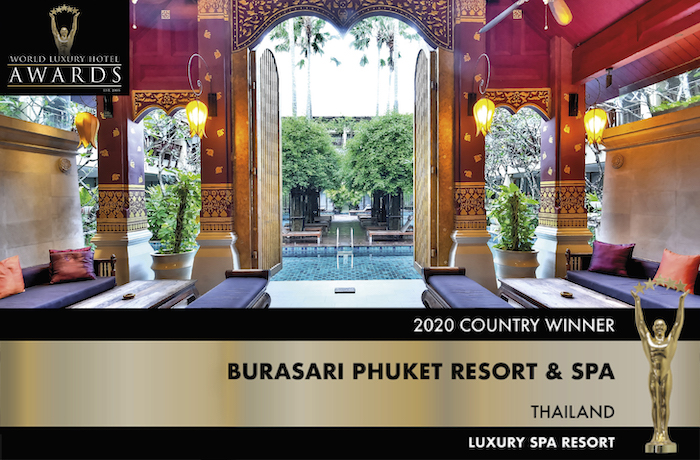 Award for Burasari Phuket Resort & Spa