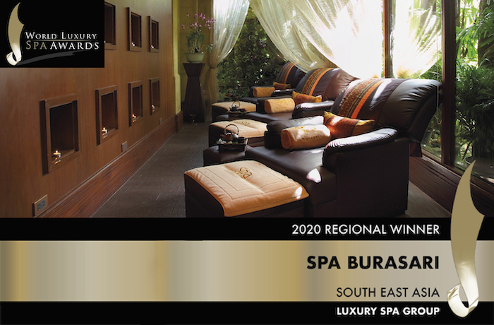 Award for Burasari Spa